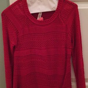 Aeropostale Sweaters - Red sweater perfect for holiday/seasonal wear